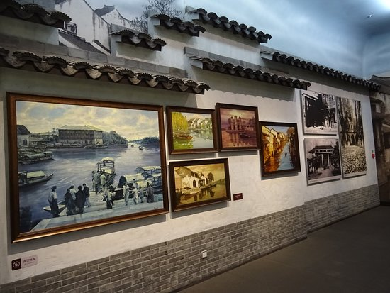 Nanhu Revolutionary Memorial Hall: Some pictures on the wall -
