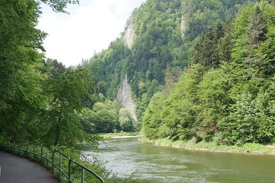 Spływ Dunajcem: Okolice słowackiej Lesnicy