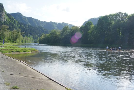 Spływ Dunajcem: Przystań w Szczawnicy