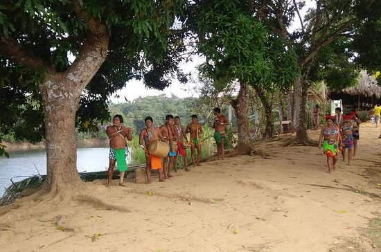 ツアーEmbera先住民族の村とChagres Rainforest