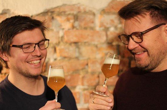 Bierverkostung auf Englisch