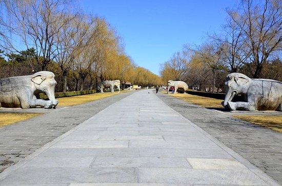 Peking Mutianyu große Mauer und Ming...