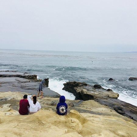 拉霍亚海滩照片