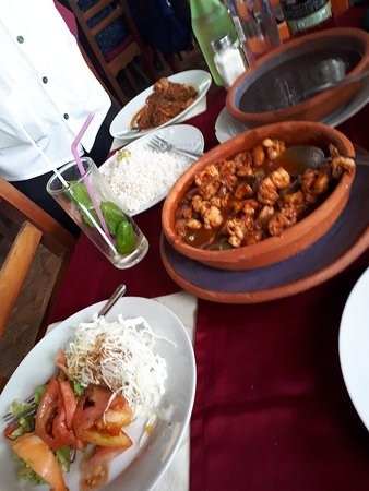 Cojimar, Cuba: The yummy food