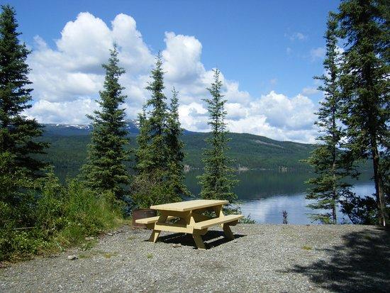 Dease Lake, Canada: site # 6