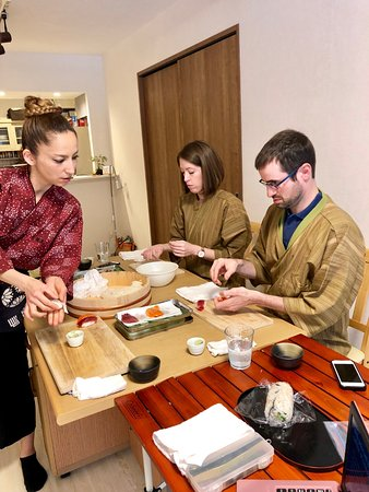 Cooking Class Japan Cross Bridge照片