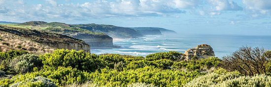 The Great Ocean Road winds its way along the breath-taking coastline of south-west Victoria.