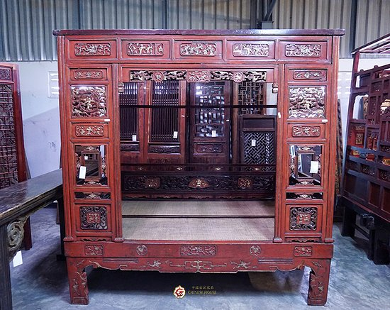 Chinese House: Chinese Antique Bed