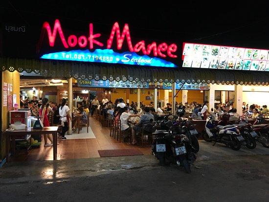 Seafood market area