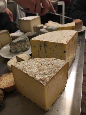La Maison de Nany : Die schönsten regionalen Käse gab es natürlich zum Schluss