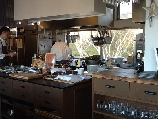 Solis Agriturismo: オープンキッチン