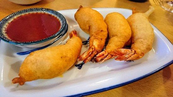 Le Mekong : Beignets de crevettes délicieux