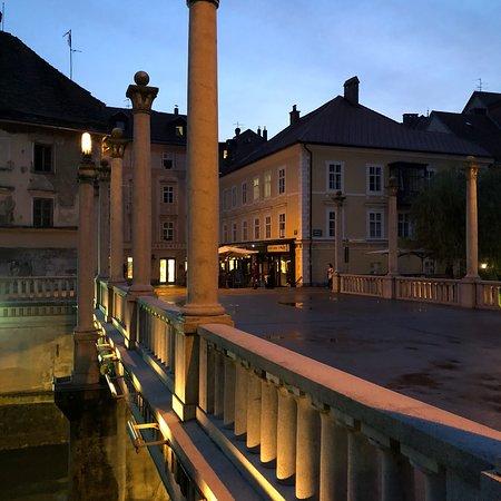 卢布尔雅那老城照片