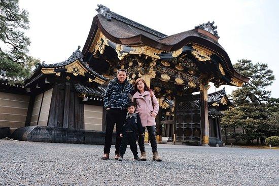 Castello Nijo: 唐門Karamon of 二の丸御殿Ninomaru Palace