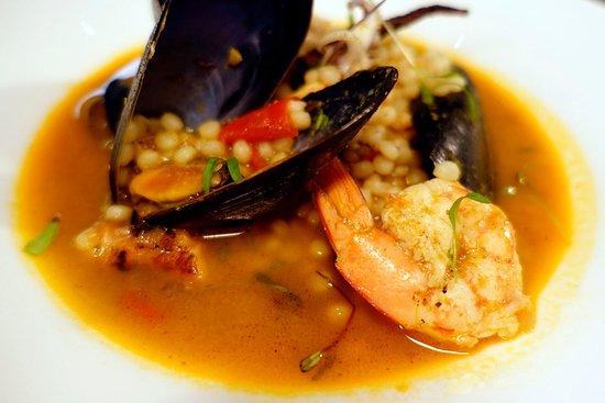 Darwin Sailing Club Waterfront Bistro: Seafood Fregola