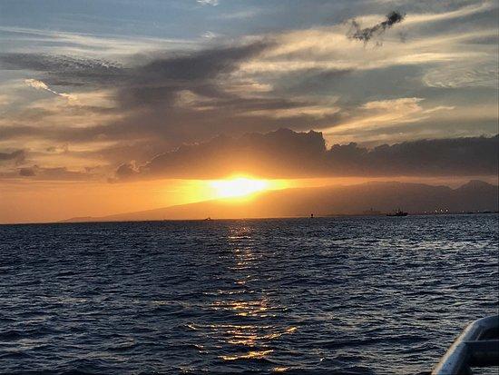 Sail Blue Hawaii LLC: Amazing sunset