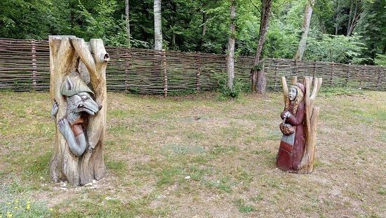 Bialowieza Forest: Big Bad Wolf and Little Red Riding Hood