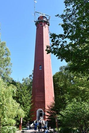 Lighthouse in Hel: W całej okazałości.