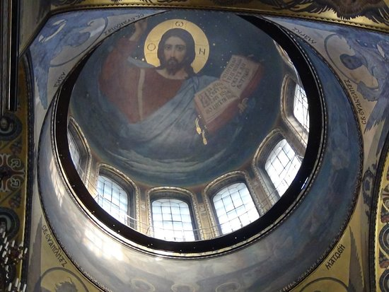 St. Volodymyr's Cathedral: Роспись купола