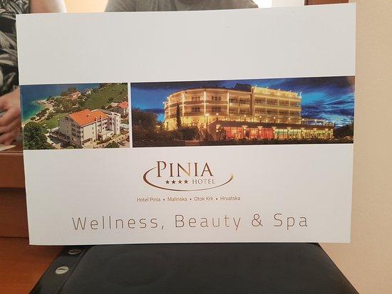 Hotel Pinia: Postkarte
