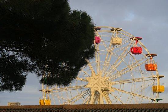 Barcelona Autrement: arrivée au tibidabo