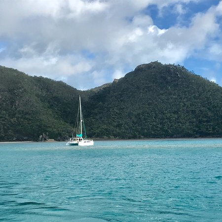 Whitehaven Beach and Hill Inlet Lookout Full-Day Snorkeling Cruise by High-Speed Catamaran ภาพถ่าย