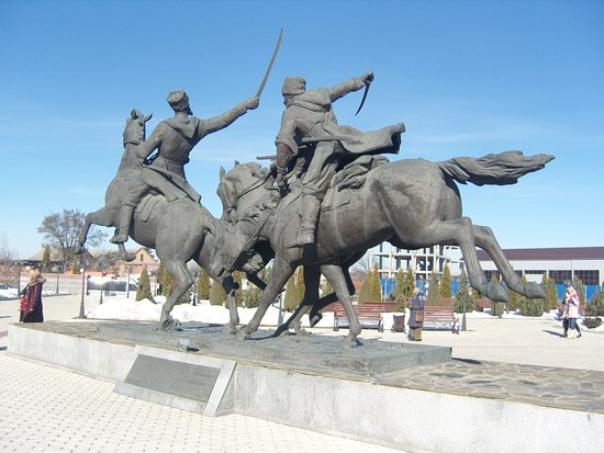 Memorial of Memory and Glory: Памятник Дикой дивизии