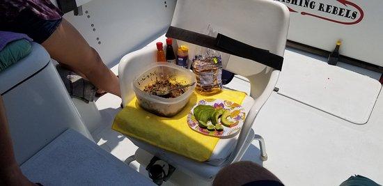 Puerto Vallarta Fishing: Fresh Aku ceviche++!