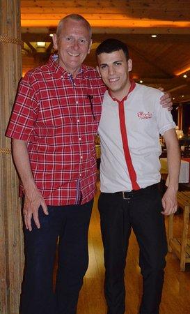 Kybele Restaurant & Bar : Waiter lovely and funny like Jerry Lewis!