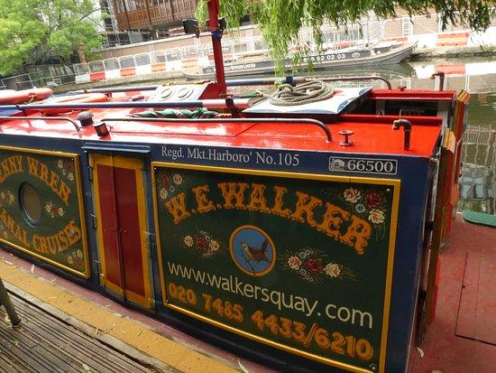 Walker's Quay Canal Cruises: The Jenny Wren at Walker's Quay, Camden Town