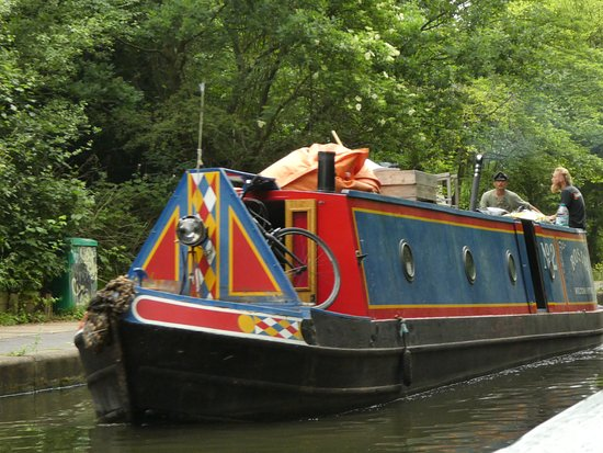 Walker's Quay Canal Cruises: Fellow boaters on the Regent's Canal