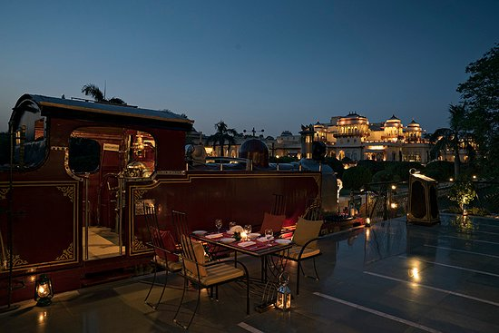 Steam at Rambagh Palace offers spectacular dining experiences with