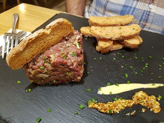 Molins de Rei, İspanya: Steak tartar