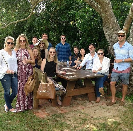 Brisbane Region, ออสเตรเลีย: The sun is always shining on our Brisbane Winery tours!