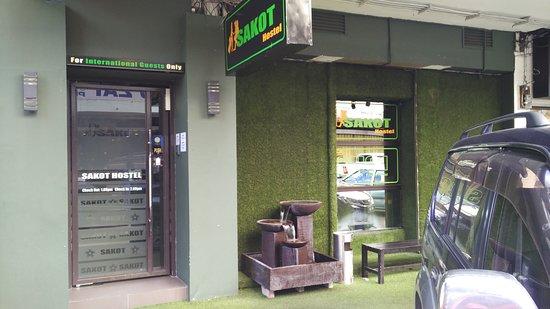 Sakot Hostel: entrance