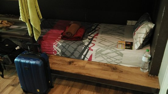 Sakot Hostel: my bed
