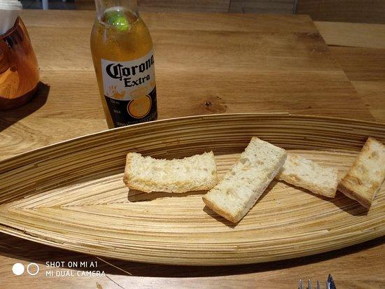 Fresh Catch: Crispy Bread (no butter!)