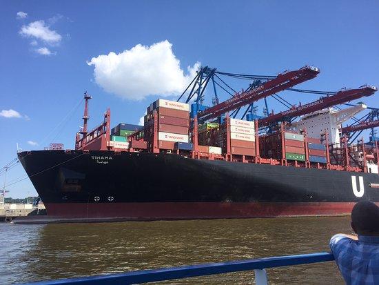 Rainer Abicht Elbreederei : Größte Containerschiffe