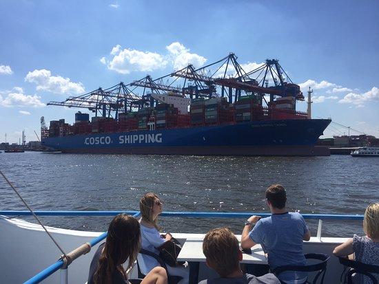 Rainer Abicht Elbreederei : Containerriesen