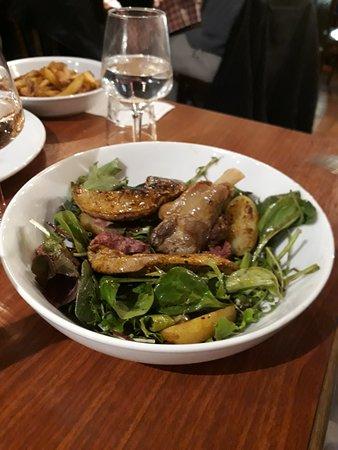 Le Bouchon Poitevin: salade gascogne