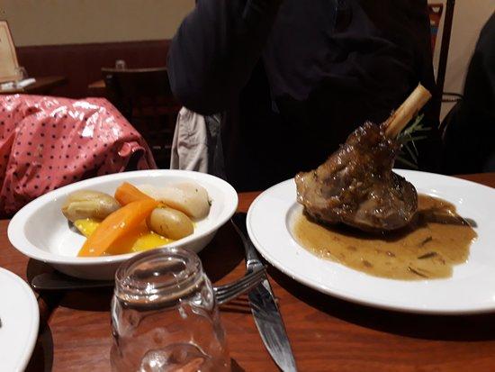 Le Bouchon Poitevin: souris d'agneau