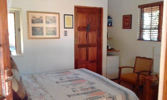 Komatipoort, Sydafrika: En suite rooms with TV, air con and bar fridge