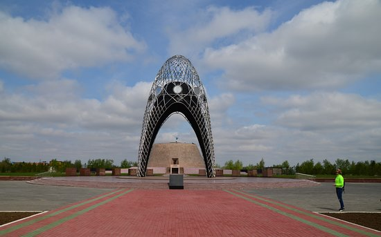 Malinovka, Kasachstan: Alzhir - Museum and memorial complex of Victims of political repressions and totalitarianism.