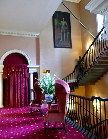 Lumley Castle Hotel: Staircase