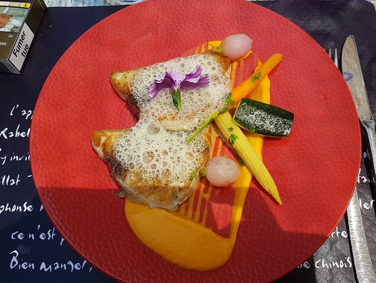Le Polynesia Beach : Espadon grillé