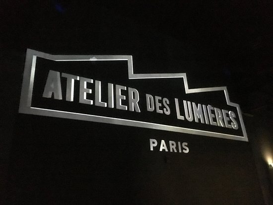 Atelier des Lumières: Installation