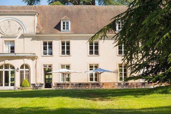 Restaurant du Golf du Château de la Couharde: Terrasse du restaurant