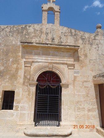 Chapel of the Annunciation: Kappella ta' San Ġwann Evanġelista