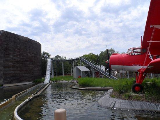 Parc du Petit Prince: Flume ride très humide!!!!