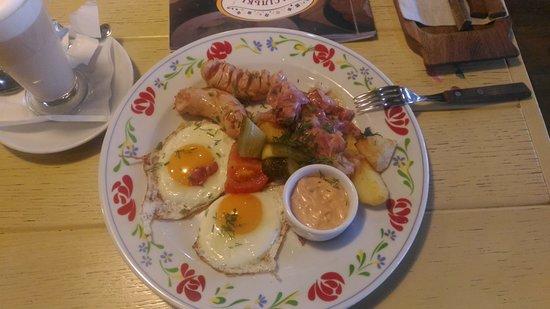 Restaurant Vasilki: Английский завтрак